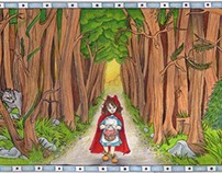 Fairy Tale Square: Red Riding Hood