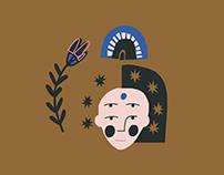Alchemy — Digital Illustration + Pattern Design