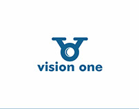 The logo of Vision One.