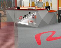 Academia Runway - remodelagem visual