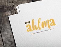 criação de marca: com ahlma
