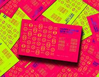 二〇一八狗年贺卡设计 | Dog Year greeting card design