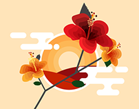 7-days flower themed design challenge