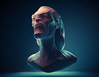 WHITE WALKER// 3D Sculpture