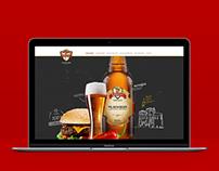 Queen's Cervejaria · Site