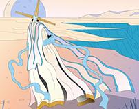 Character Design. Desert spirit.