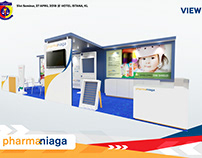 Pharmaniaga Booth Stand