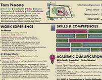 Tom Noone Curriculum Vitae
