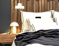 Bedroom // Chambre Hôtel