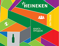 Heineken Sales Folder (4 volumes)