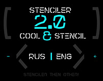 Stenciler Font Latin | Cyrillic