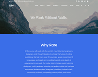 About us page - Rare WordPress Theme by Visualmodo
