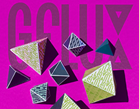 Gflux Event poster and logo