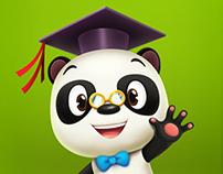 Dr. Panda Characters Design