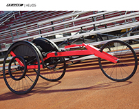 OnTrack HELIOS Racing Wheelchair