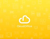 CloudOffice. Landing page