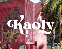 Kaoly - Beautiful Display Font