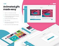 Ezgif Website Product Design