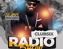 Radio Show Dj Flyer Template