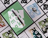 Volmaakt - a social-economic brand identity 2017