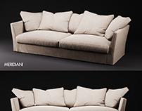 Meridiani Queen sofa