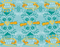 Bee Kind Pattern