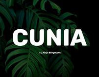 CUNIA - FREE FONT