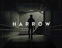 harrow / title treatment