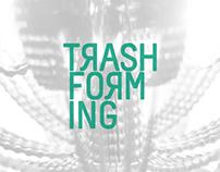 Trashforming. Diseño del logotipo e imagen del blog.