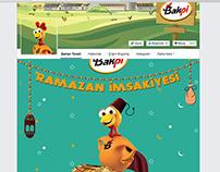 Bakpiliç Ramazan İmsakiyesi Facebook Uygulaması 2015