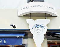 Milks -FRESH CHEESE & WINE-