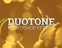 Duotone Photoshop effect