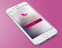 Mobile Apps UI dseign - Login screen v.2