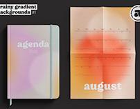 Grainy Gradient Backgrounds