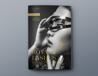 Redesign of Royal Lashes Magazine
