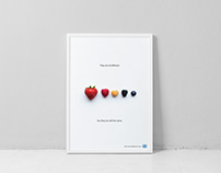 Selection of creative advertising posters