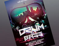 Drum and Bass Flyer