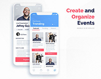 Mobile Ui // Events Apps