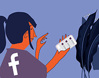 Facebook Privacy - Illustration