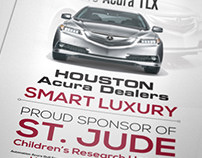 Houston Acura Dealers - St. Jude Event