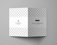 Trifold Brochure Mockup - PSD