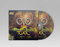 Free Toxic Music CD Cover Template