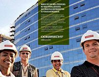 Odebrecht :: Anúncios para revista e jornal