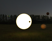 my own Solar System -/maɪ/ /əʊn//ˈsəʊləʳ//ˈsɪstəm/