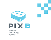 PIX.B Creative Marketing Agency Logo