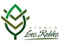 """Imagen e Identidad Corporativa """"Vivero Los Robles"""""""