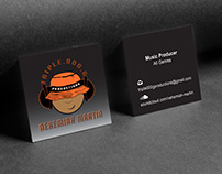 Triple000G Productions Logo & Business Card