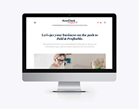 Website Design on Squarespace for Accounting Business