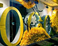 Visual Merchandisign for Invoga Store, Kiev 2013