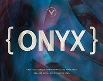 ONIX Hand-Painted SVG Font